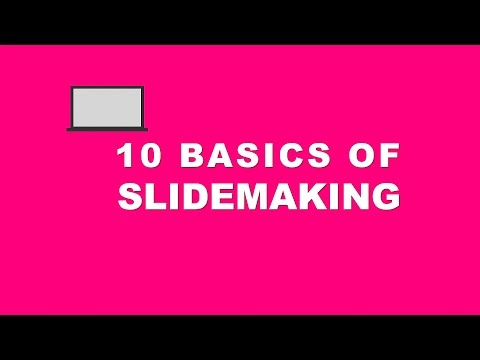 How to make a Professional Powerpoint slide! Create Slide Template