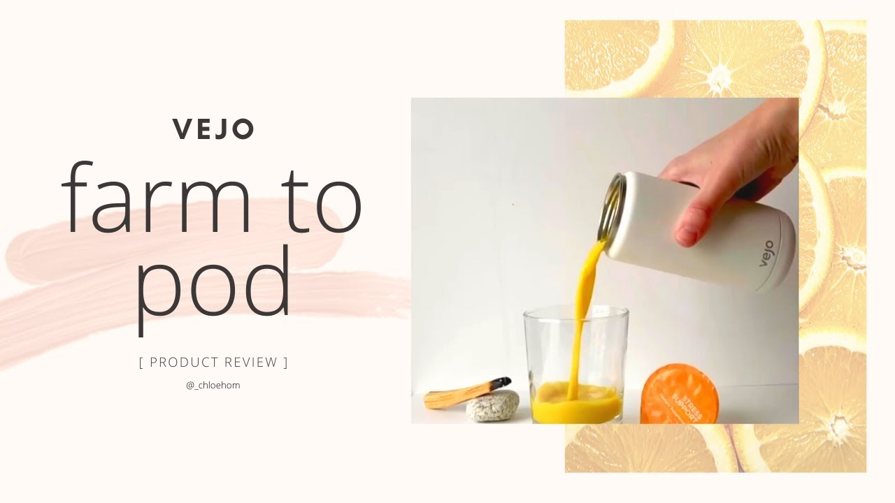 VEJO - Unboxing & Review: The Perfect Eco-Friendly Travel Blender