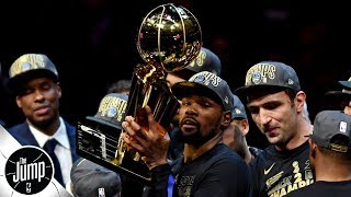 Warriors became alarmed when Kevin Durant didn't feel joy winning rings - Brian Windhorst   The Jump