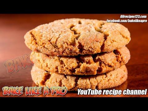 Easy Sugar Top Gingerbread Cookies Recipe - FAST version