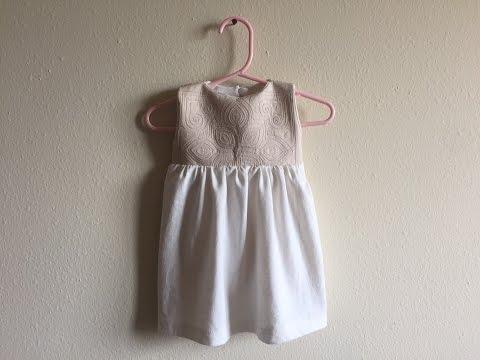 Hmong Inspired baby toddler dress