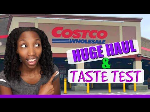 HUGE COSTCO HAUL FOR THE WHOLE MONTH | $286 costco haul