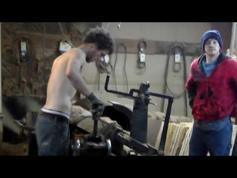 making barrel staves