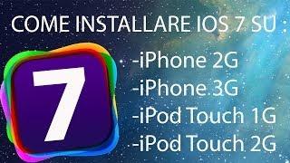 Come Installare Ios 7 Su Iphone 2g3g E Ipod Touch 1g E 2g Macwindows