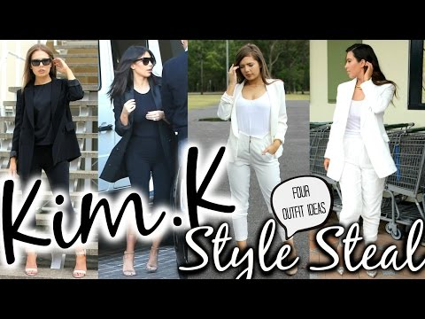 Kim Kardashian Fashion Look for Less | Celebrity Style Steal