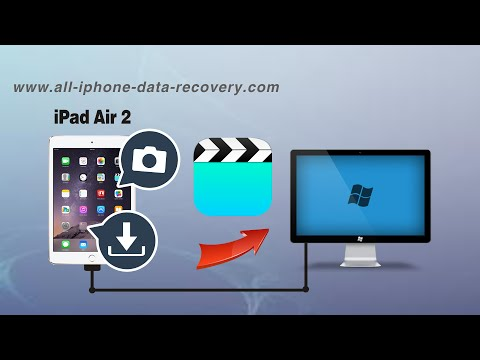How to Backup Videos from iPad Air 2 to PC without iTunes, iPad Air 2 Movies to Computer