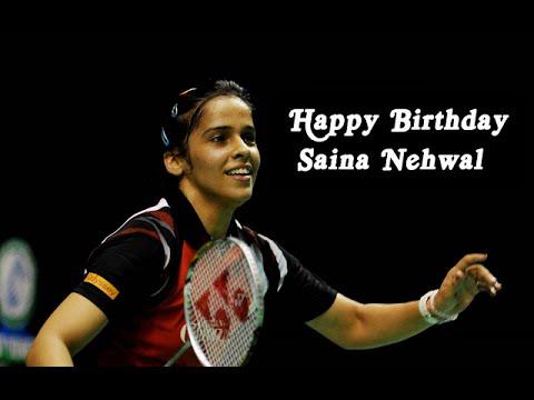 Saina Nehwal Birthday Video Greeting