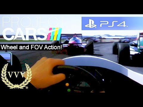 Project Cars - Wheel and FOV PS4 Gameplay