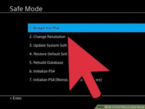 PS4 Safe Mode Guide (Fix Restore Error, Update Error, Factory Settings, Initialize PS4)
