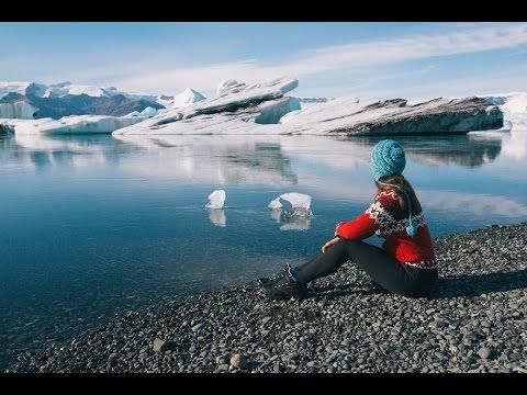 Behind the Scenes shooting at Jokulsarlon Glacier Lagoon in South Iceland