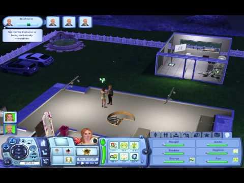 Growing a Plantsim! (Sims 3 University Life) Part Two