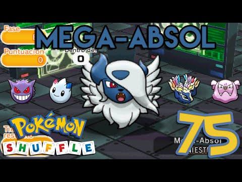 Pokémon Shuffle #75 | Mega-Absol con Poder Feérico