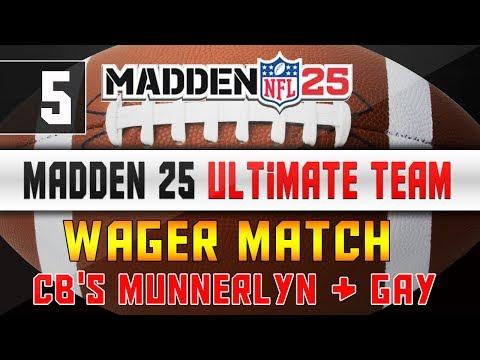 Madden NFL 25 Ultimate Team - Wager Match - 2 CB's Munnerlyn & Gay + 85k - Madden 25 MUT Next Gen