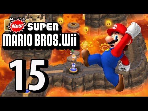 New Super Mario Bros. Wii - Part 15 (4 Player, 2018)