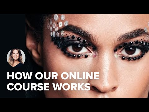 How does the course work? - Online Makeup Academy