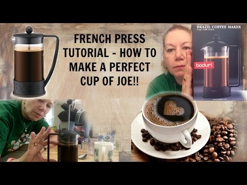 How to Properly Use a French Press Coffee Maker - Easy Steps // Perfect Cup of Coffee
