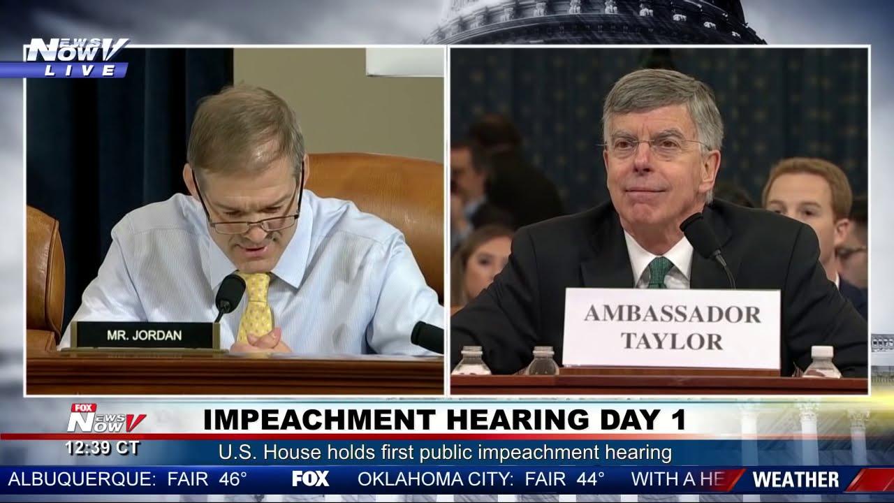 JIM JORDAN FIRED UP: During President Trump Impeachment Hearing
