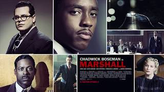 MARSHALL - Chadwick Boseman - In Theaters October 13