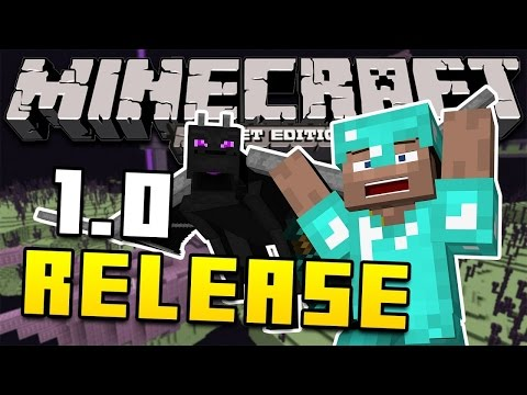MCPE 1.0.0 Update Review! - The Ender Update