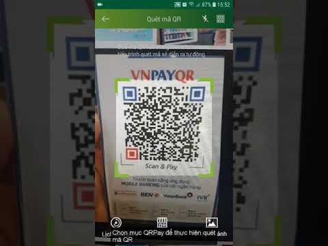 Sử dụng cổng thanh toán VNPayQR