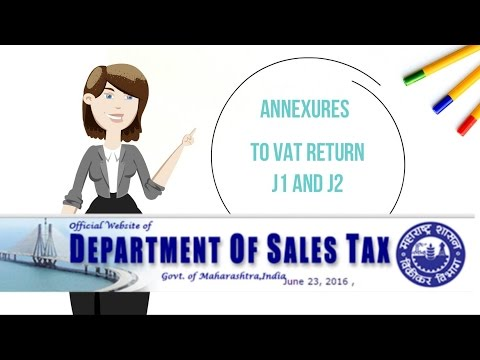 VAT - Filling J1 and J2 forms
