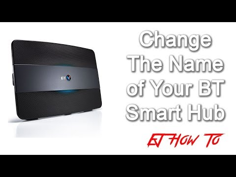 How To Change The Name/SSID of BT Smart Hub | How To | EJ How To