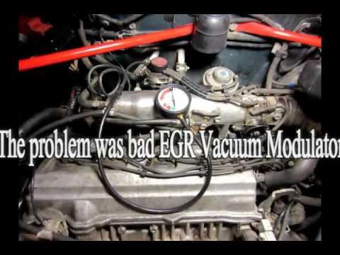 How to fix/diagnose Code P0401 Toyota - EGR Valve, Vacuum Modulator, Vacuum Switch Valve DIY