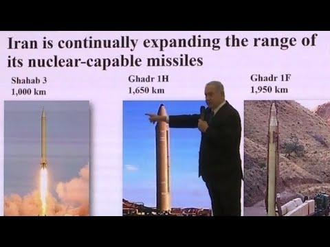 Netanyahu claims proof of secret Iranian nuclear activities