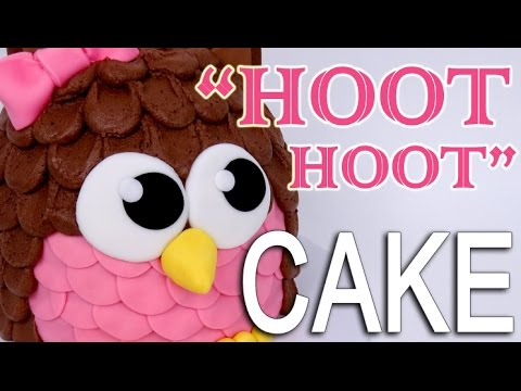 The Easiest OWL CAKE!