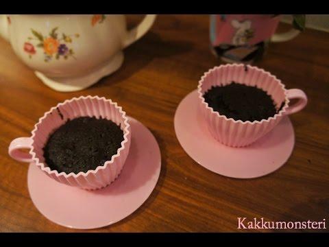 1 minute Oreo Cupcakes