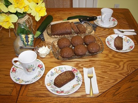 Zucchini Bread & Muffins - How to Make