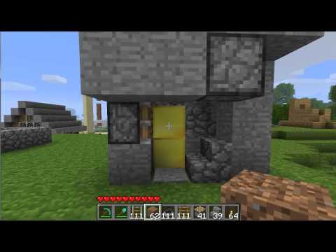 [MH] Minecraft Demonstration: Piston Elevator 1.7.3