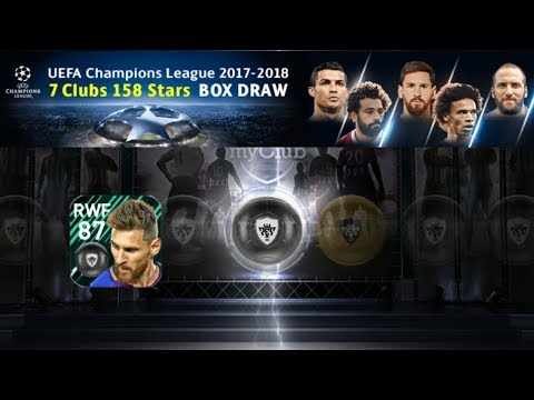 I Got Messi In Live UCL Pack Opening || PES 2018 Mobile ||