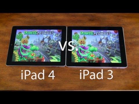 iPad 4th Generation vs 3rd Generation Speedtest & Gaming Performance (iPad 4 vs iPad 3)