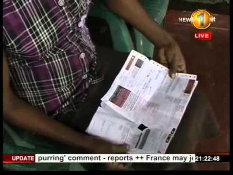 Newsfirst Baddegama household shocked by Rs.150,000 electricity bill