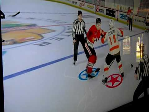 NHL2K11 - how to get a fight started in-game