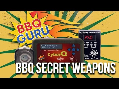 BBQ SECRET WEAPONS | BBQ Meat Temperature Controllers