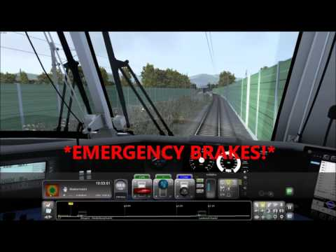 Train Simulator 2016 - Derailment Prevented!