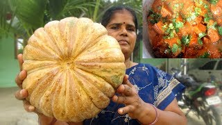 Cooking Big Pumpkin Recipe in My Village | Prepared by Mummy | VILLAGE FOOD