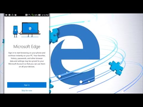 Microsoft Edge Browser for Android