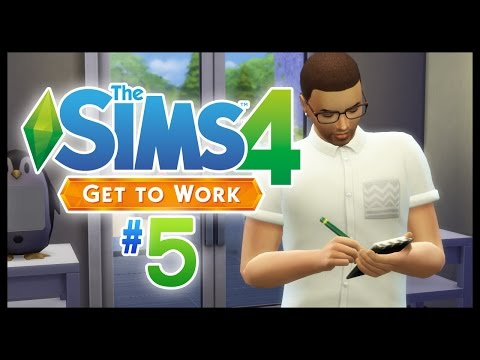 NEW EMPLOYEE - The Sims 4 - EP5