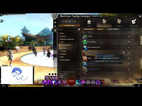 GW2: mystic forge weapons ideas that use useless mats