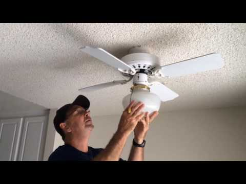 MoBe Solution 46: How to Replace Bulb in Ceiling Fan
