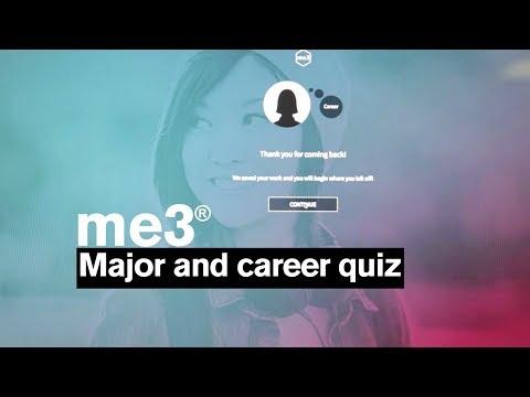 College Major and Career Quiz: me3® at Arizona State University