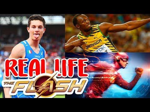 REAL LIFE FLASH! This 19yrs Italian Kid Runs FASTER than Usain Bolt! (FASTEST HUMAN ALIVE) - HD 2018