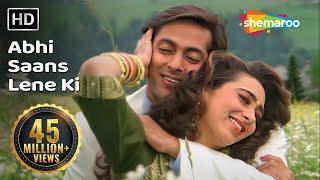 Abhi Saans Lene Ki Fursat Nahin Hai - Jeet Songs - Salman Khan - Karisma Kapoor