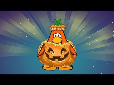 Club Penguin- Rare Halloween Costume!