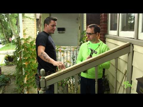 How To Replace and Install a Handrail