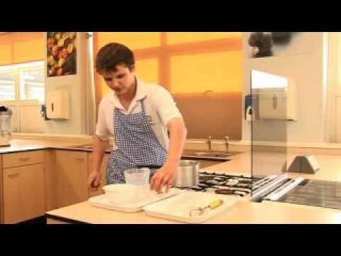 Making a white sauce