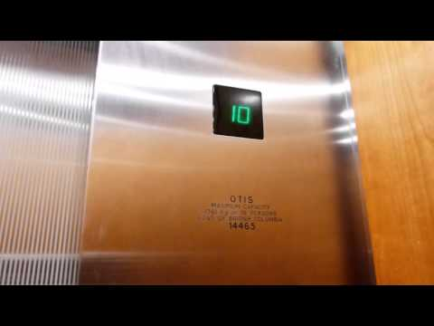 Otis Traction Elevator at Radisson Vancouver Airport Hotel in Richmond BC